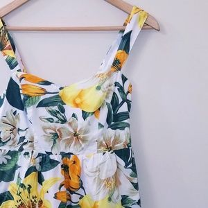 Lemons & Lilies Cotton Sun Dress w/ Pockets 🍋💛